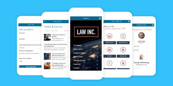 Fliplet Legal Apps