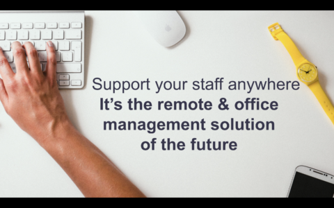 Remote and office management solution