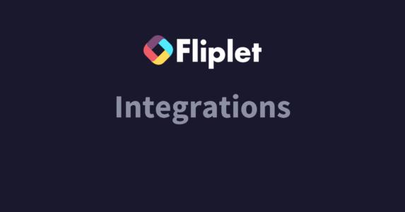 Fliplet integrations website header